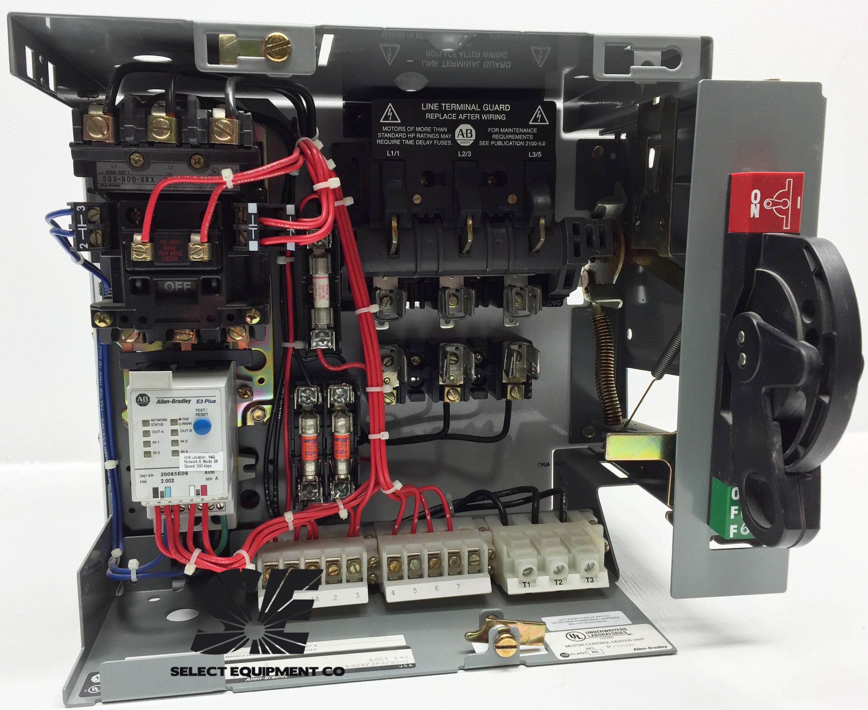 193 ec1cb allen bradley e3 overload relay select for Allen bradley motor overload